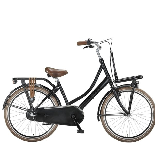 Altec Dutch 24 inch Transportfiets Zwart