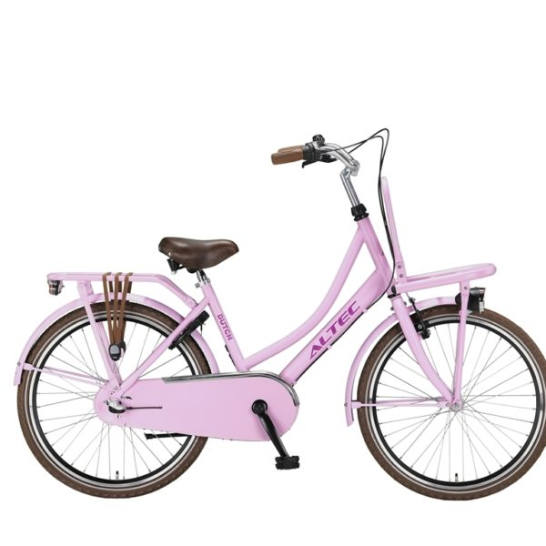 Altec Dutch 24inch Transportfiets Hot Pink