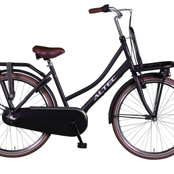 Altec Dutch 26 inch Transportfiets Zwart 2018