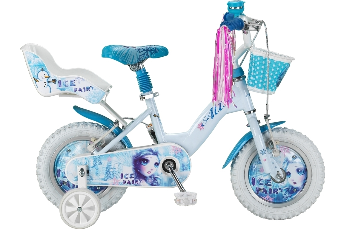 Altec Ice Fairy 12 inch Wit meisjesfiets